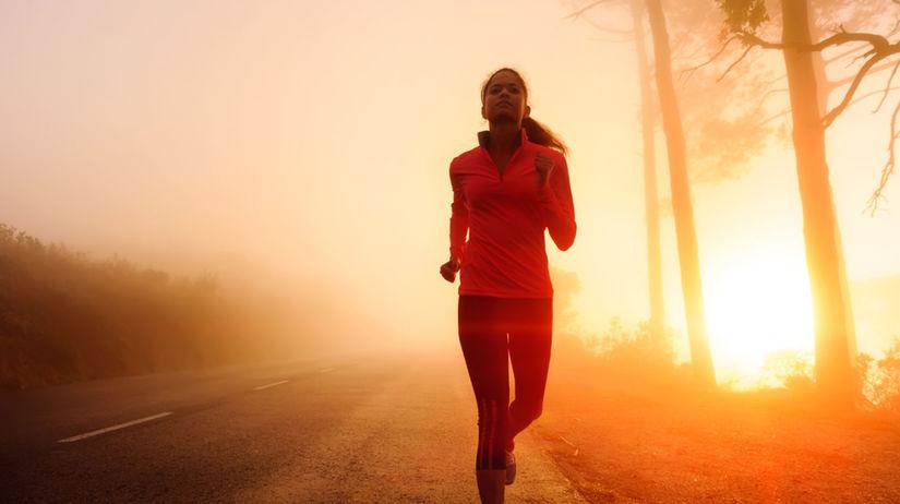 Behanie - ráno - východ slnka - cesta - bežecké...
