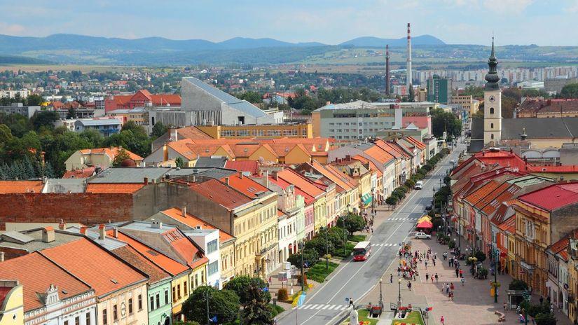 Prešov, hlavná