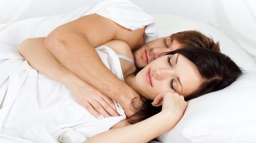 muž, žena, láska, sex, spánok, posteľ, láska,...