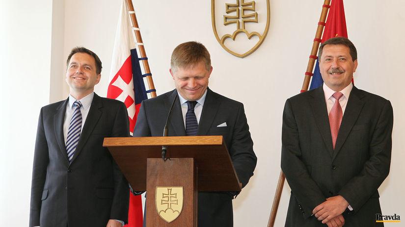 Robert Fico, Pavol Paška