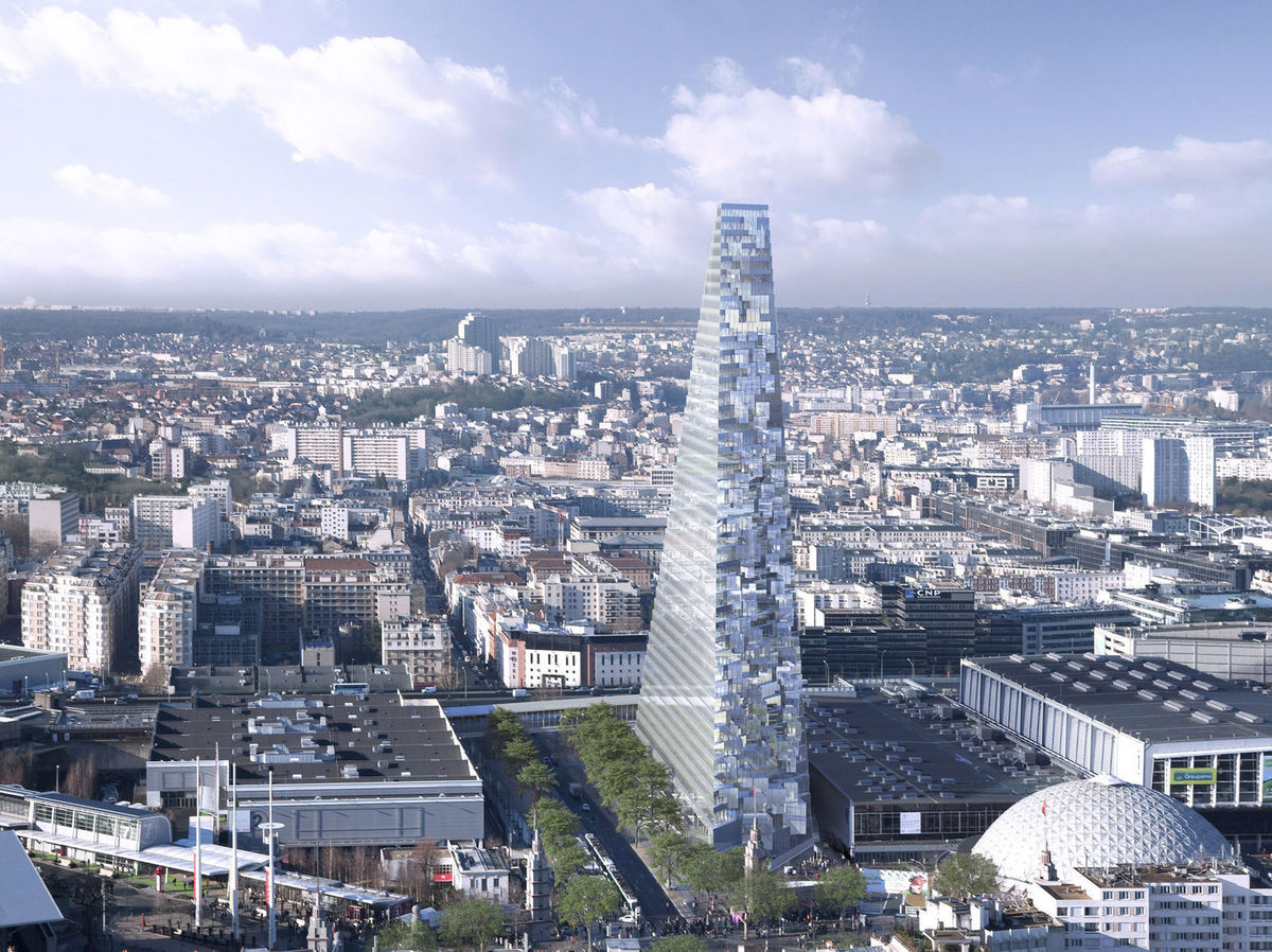 5870f7c525 Paríž rozhádala stavba obrieho mrakodrapu Tour Triangle