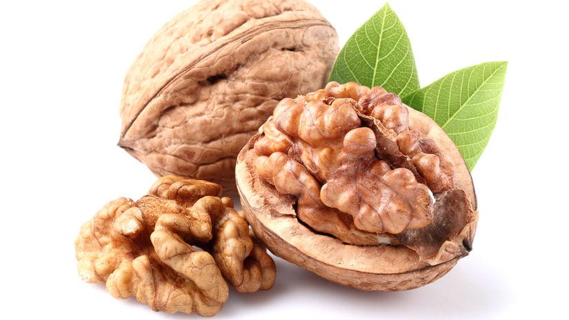vlašské orechy, zdravie, výživa
