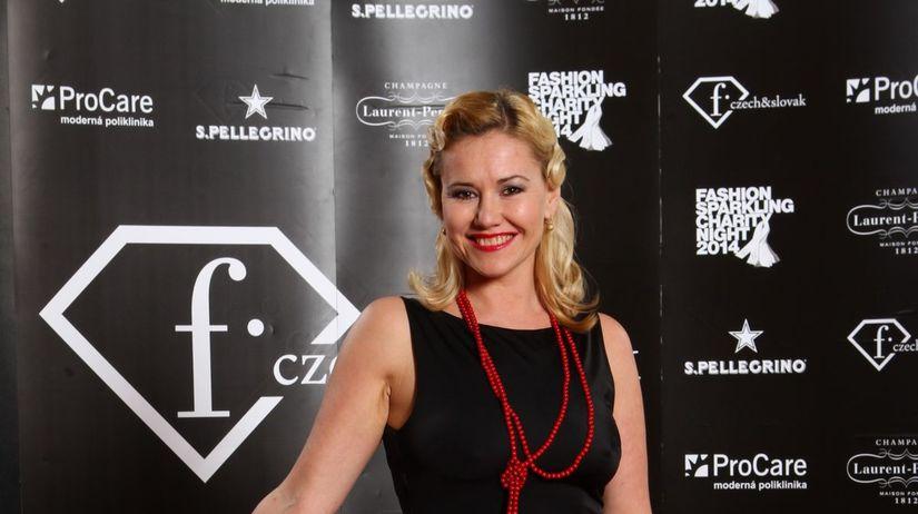 Herečka Zuzana Haasová.