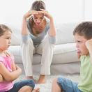 matka, výchova, neposlušné deti