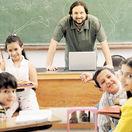 škola, učiteľ, trieda