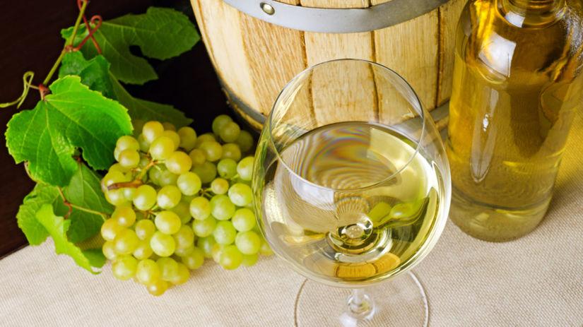 biele víno, hrozno, alkohol