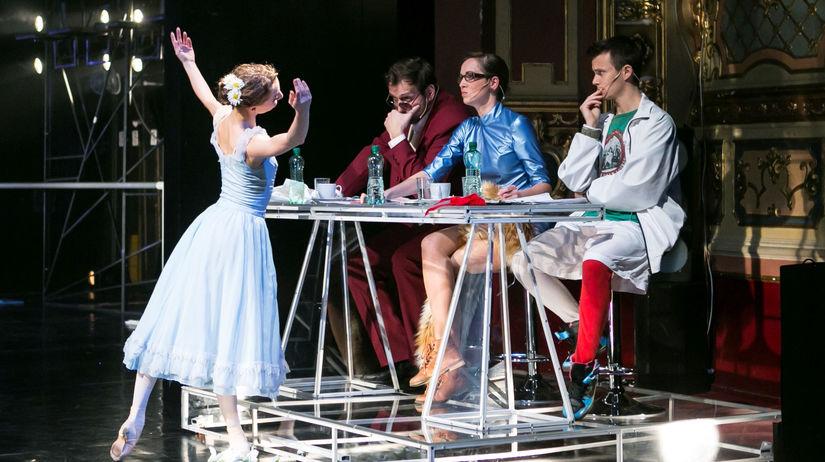 Tanečné predstavenie Nočná skúška - príprava na...