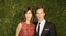 Benedict Cumberbatch a jeho snúbenica Sophie Hunter