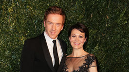 Herec Damian Lewis a jeho manželka Helen McCrory.