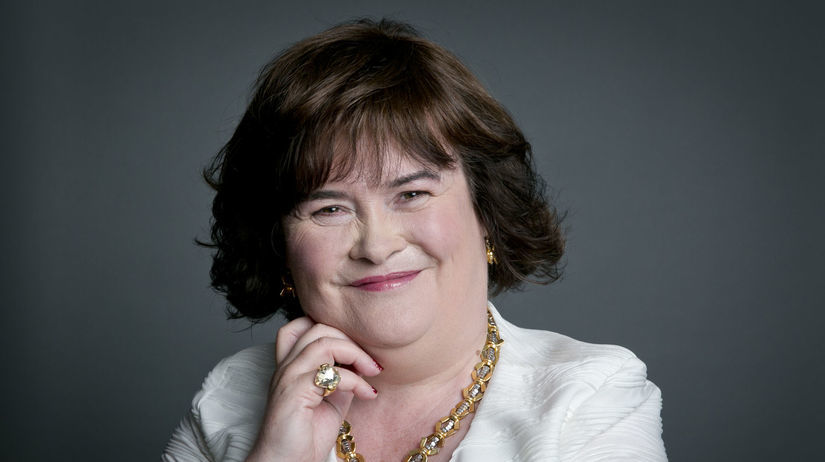 Speváčka Susan Boyle.