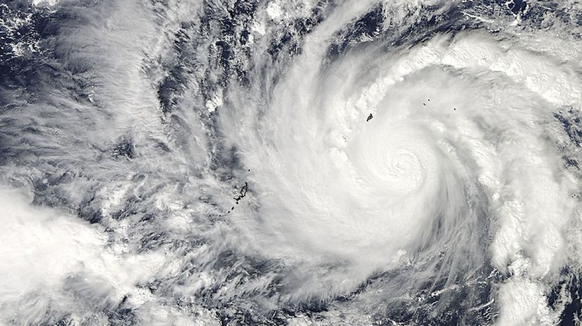 Filipíny, tajfún, Hagupit, počasie,