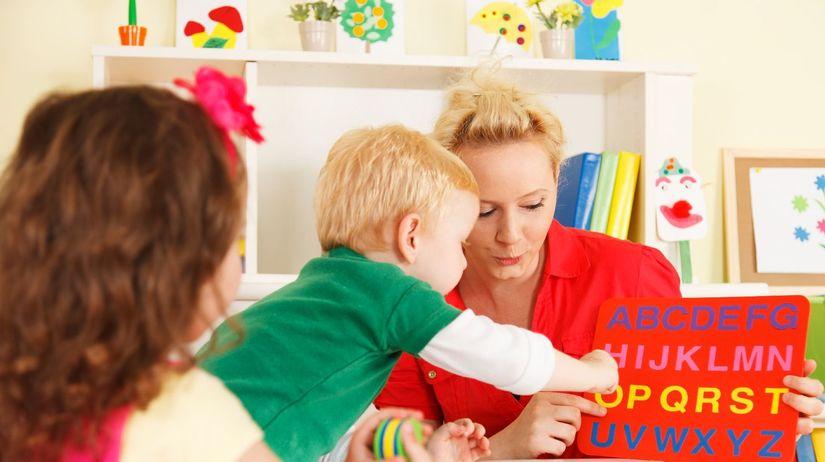 škôlka, magnety, dieťa, deti, abeceda, materská...
