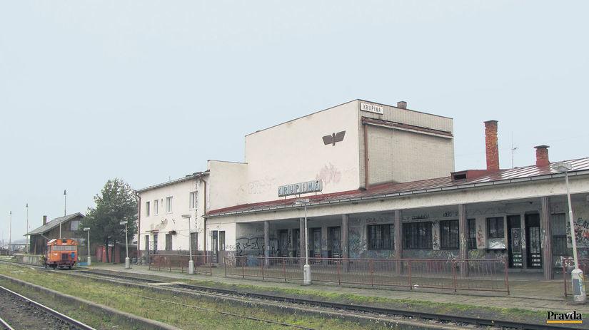 Krupina, stanica, vlak