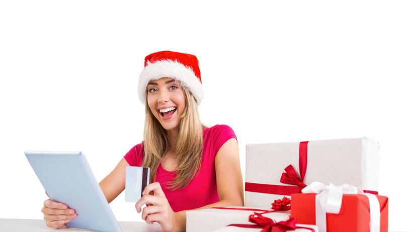 vianočné nákupy, Vianoce, darčeky