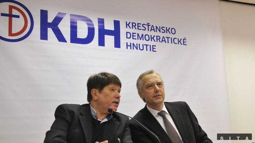KDH, Ján Figeľ, Peter Lačný