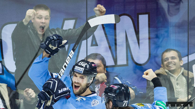 Tomáš Netík, Michal Vondrka, Slovan, hokej, radosť
