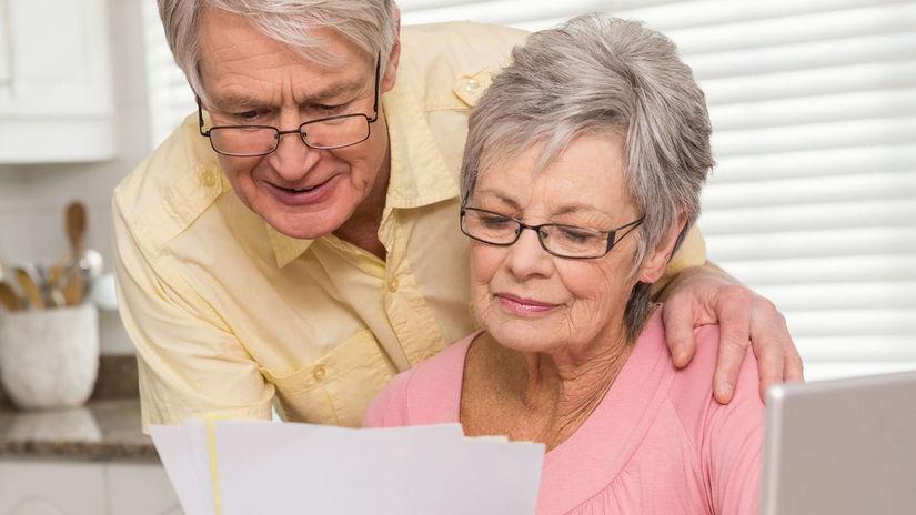 seniori, dôchodcovia, list, počítač, dôchodok,...
