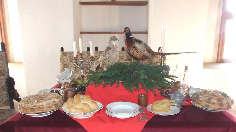 Vianoce, vianočný stôl