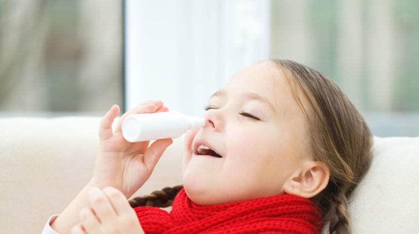 nos, prechladnutie, nádcha, kvapky