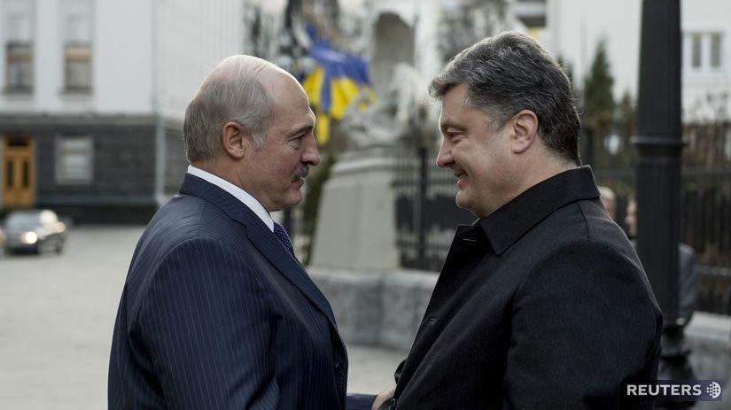 Lukašenko, Porošenko