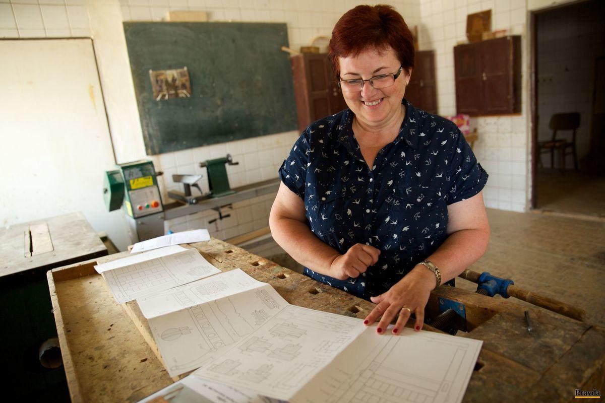 Margita Perignáthová, riaditeľka Strednej umeleckej školyv Kežmarku.
