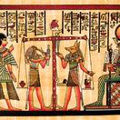 papyrus, Egypt, hieroglyf