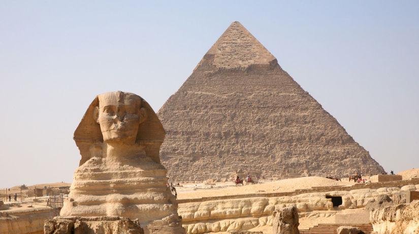 sfinga, pyramída, Egypt, Giza