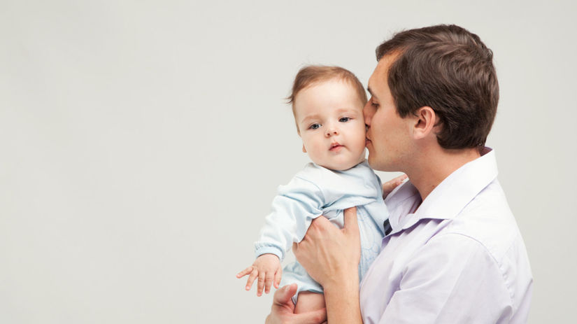 muž a dieťa