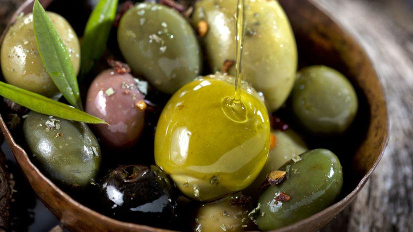 olivy, olivový olej,