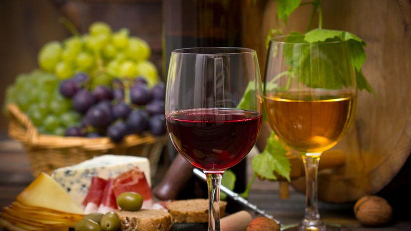 víno, alkohol, občerstvenie