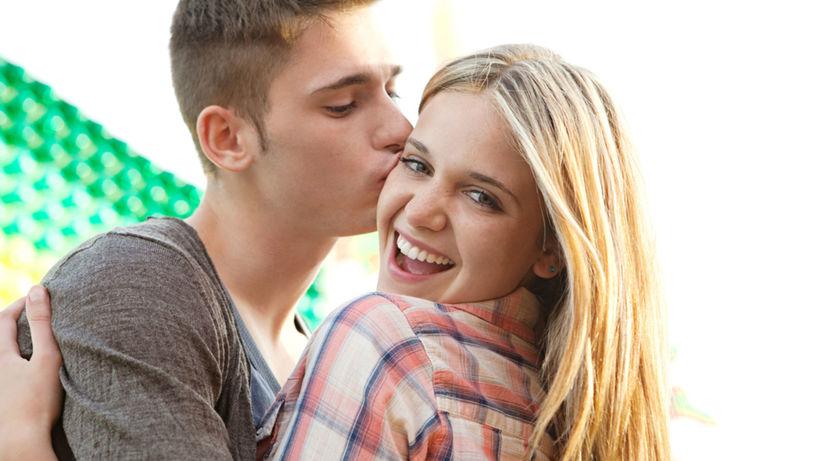 tínedžeri, láska, vzťah