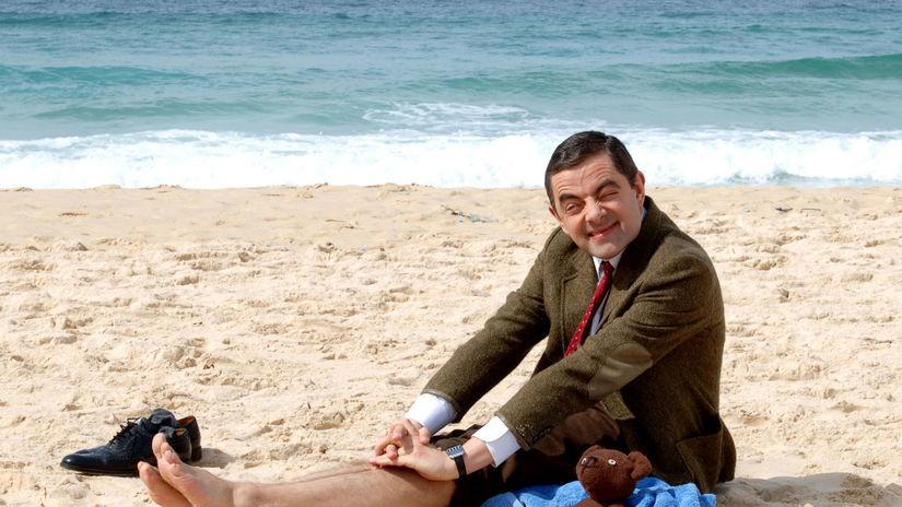 Rowan Atkinson ako Mr. Bean