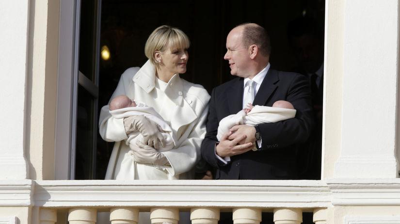 Princezná Charlene a knieža Albert