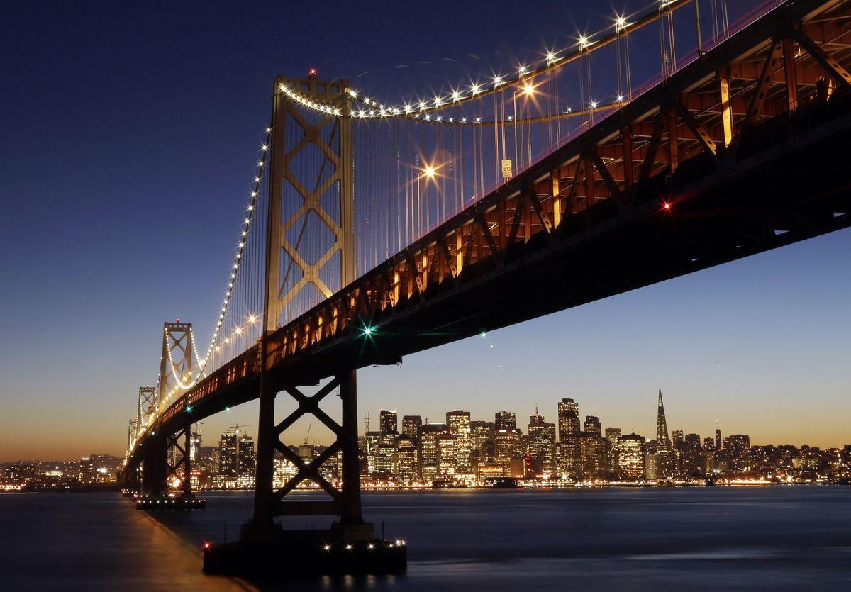 San Francisco, most Oakland Bay