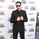 Spevák Marilyn Manson.