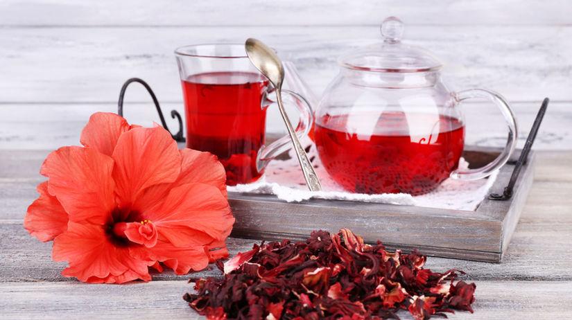 ibištek, ovocný čaj,