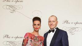 Boris Kollár a jeho partnerka - modelka Andrea Heringhová