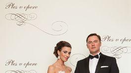 Herečka Lucia Hurajová so svojím manželom.