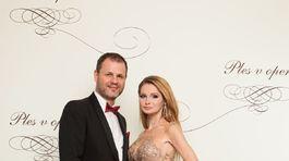 Podnikateľka Jana Prágerová s manželom.