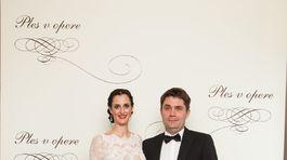 Programový riaditeľ RTVS Tibor Búza s manželkou.