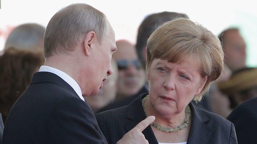 Angela Merkelová, Vladimír Putin