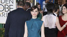 Felicity Jones v kreácii Dior Couture.