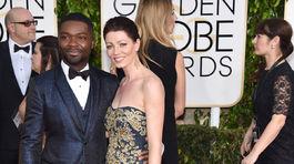Herec David Oyelowo a jeho manželka Jessica Oyelowo.