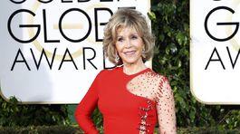Herečka Jane Fonda.