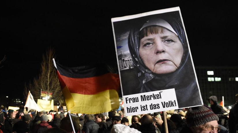 Pegida, Nemecko, Drážďany, protest