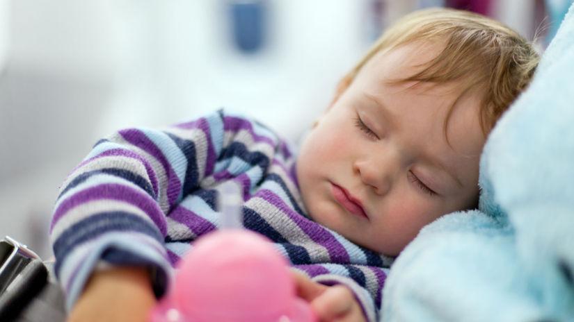 Spánok po učení - dieťa -
