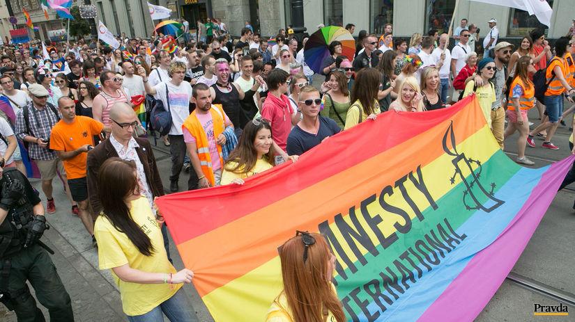 dúhový pochod, pride, LGBTI, homosexuáli,...
