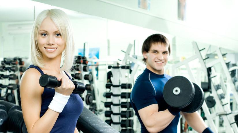 fitnes, činky