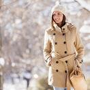 prechádzka, zima