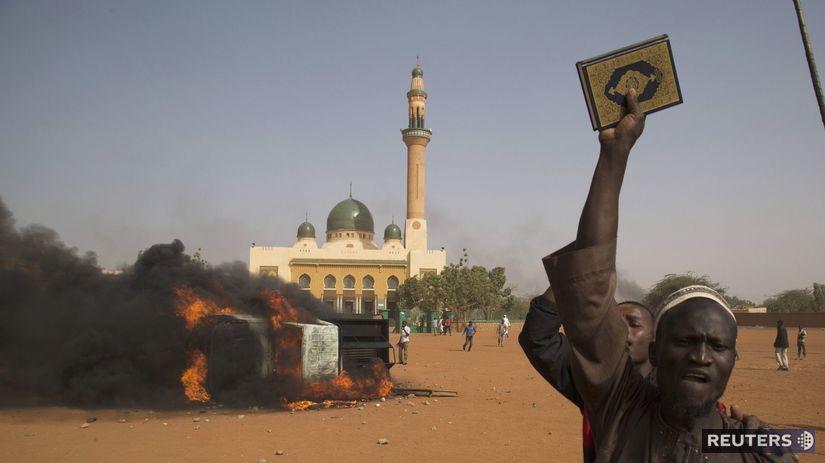 Niger, protest